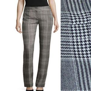 Worthington Pants Max Plaid Modern Fit Relaxed